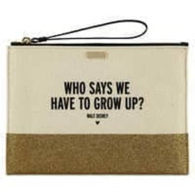 Disney ''Who Says We Have to Grow Up?'' Canvas Gli