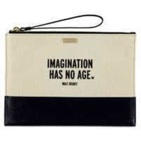 Disney ''Imagination Has No Age'' Canvas Clutch by