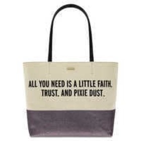 Disney Peter Pan Canvas Glitter Tote by kate spade
