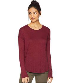 Splendid Zander Long Sleeve Cotton Modal Slub Easy