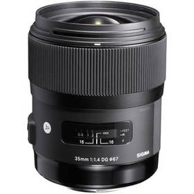 Sigma 35mm f/1.4 DG HSM Art Lens for Sony A