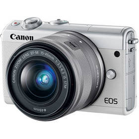 Canon EOS M100 Mirrorless Digital Camera with 15-4