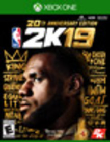NBA 2K19 20th Anniversary Edition for Xbox One