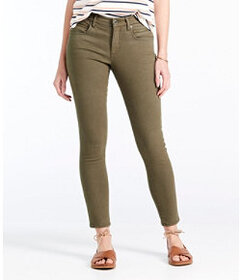LL Bean Signature Premium Skinny Jeans, Zip Pocket