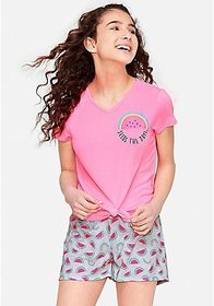 Justice Seeds the Day Short Pajama Set