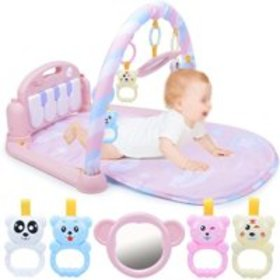 3 In 1 Baby Ring Bell Kid Play Musical Pedal Piano