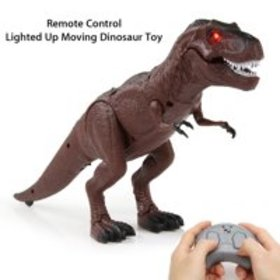 Battery Operated Remote Control Walking Toy Dinosa