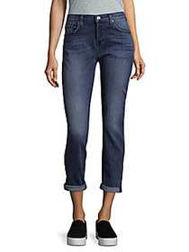 7 For All Mankind Josefina Washed Jeans RICH BLUE