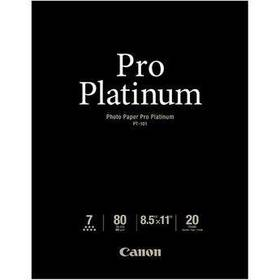 "Canon Pro Platinum Photo Paper 8.5 x 11"" (20 Sheet"