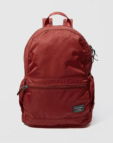 Packable Backpack, Red