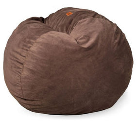 """As Is"" CordaRoy's Full Convertible Bean Bag Chair"