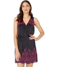 Juicy Couture Flirty Contrast Embroidered Dress