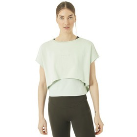 Oakley Oakley Luxe Crop Top - Aqua Foam