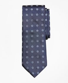 Brooks Brothers Framed Flower Tie