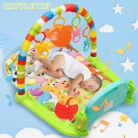 4 in 1 Baby Gym Floor Play Mat 4 Way Play Musical