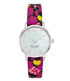 kate spade new york Metro Three-Hand Floral Leathe