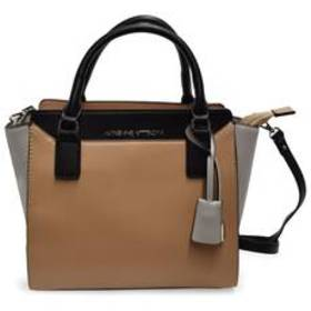Adrienne Vittadini Color Block Satchel with 48in.