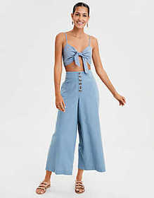 American Eagle AE Knot Front Bralette Top