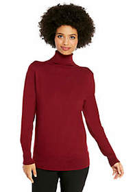 The Limited Fine Rib Turtleneck Top