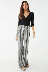 Forever21 Surplice Wrap-Front Top