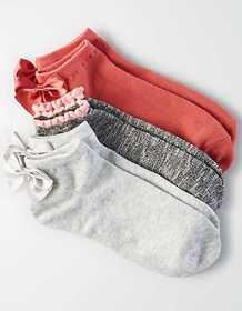American Eagle AEO Bow Ankle Sock 3-Pack