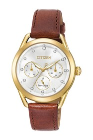 Citizen Women's Standard Leather Eco-Drive Watch