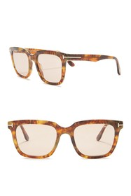 Tom Ford 53mm Square Sunglasses