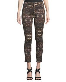 Jen7 by 7 for All Mankind Grand Baroque Floral-Pri