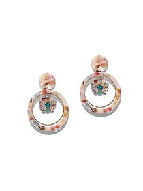 Multicolor Hoop Drop Earring - New York & Company