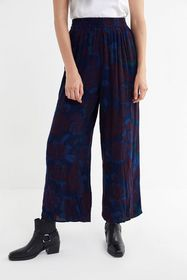 Urban Renewal Recycled Overdyed Print Pull-On Pant