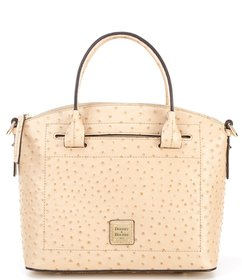 Dooney & Bourke Ostrich Beacon Collection Domed To