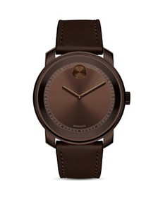 Movado - Museum Dial Watch with Leather Strap, 42.