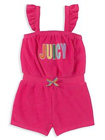 Juicy Couture Little Girl's Ruffled Cotton Blend R