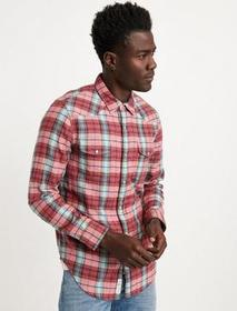 Lucky Brand Double Weave Western Shirt