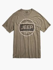 Lucky Brand Big And Tall Jeep Spirit Workwear Tee