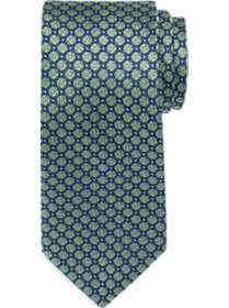 Joseph Abboud Green Floral Narrow Tie