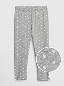 Toddler Print Leggings In Stretch Jersey