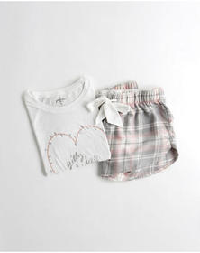 Hollister Sleep Set, WHITE