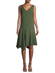 Lafayette 148 New York Asymmetrical Shift Dress FI