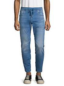 G-Star RAW Faded Slim-Fit Drawstring Jeans LIGHT B