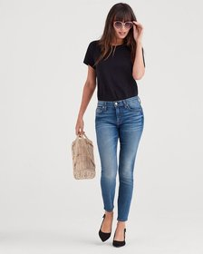 7 For All Mankind Luxe Vintage Ankle Skinny in Fem