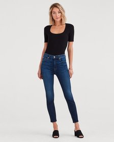 7 For All Mankind b(air) Authentic Denim Aubrey Su
