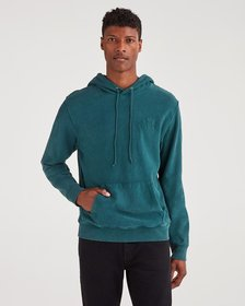 7 For All Mankind Commons Graphic Hoodie in Vintag