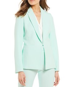 Preston & York Layla Stretch Crepe Blazer Jacket
