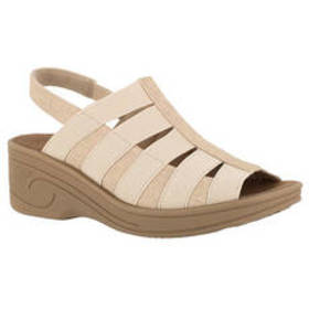 Womens Easy Street Floaty Strappy Wedge Sandals