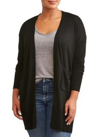 Poof Apparel Poof Women's Plus Size Shawl Collar D