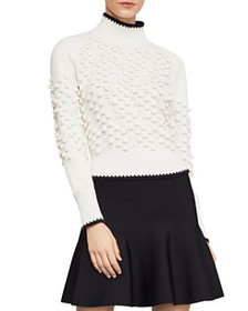 BCBGMAXAZRIA - Popcorn-Stitch Turtleneck Sweater