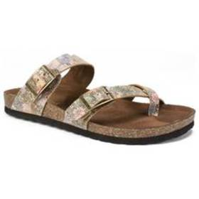 Womens White Mountain Gracie Slide Sandals