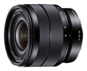 Sony - 10-18mm f/4 Wide-Angle Zoom Lens for Most N