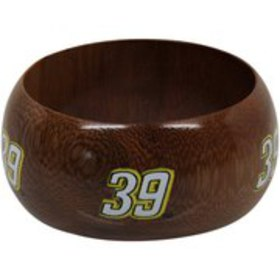 Dayna Pro Ryan Newman Women's Wooden Bangle Bracel